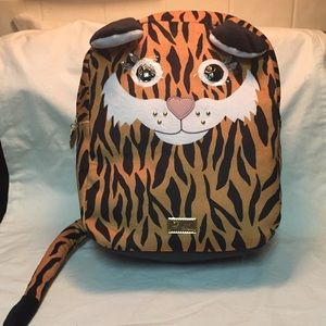 NWT Betsey Johnson tiger backpack! Too cute